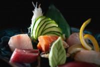 varie sashimi e sushi